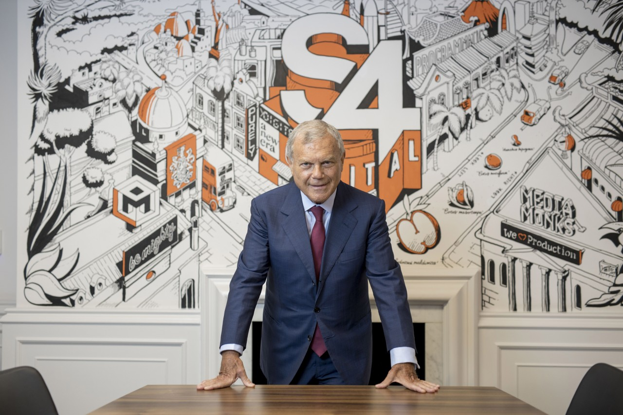 Today's Office: Sir Martin Sorrell on less travel and more walks with his dog