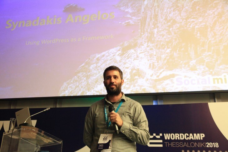 WordCamp Thessaloniki - Using WordPress as a Framework