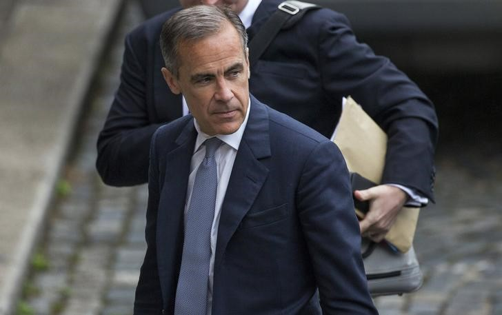 © Reuters.  Bank of England's Carney appears out of race for IMF top job