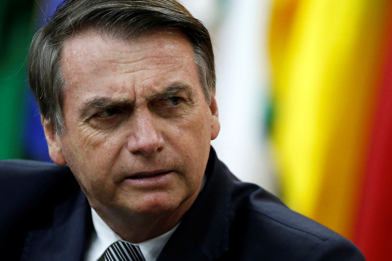 Brazil's Bolsonaro says government may cut worker protections to boost job creation By Reuters