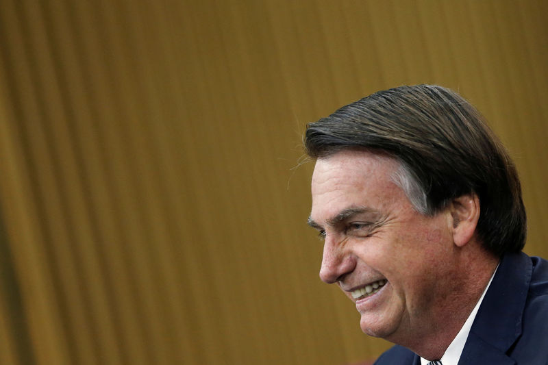 Brazil's Bolsonaro vows no new taxes or CPMF return in tax reform agenda By Reuters