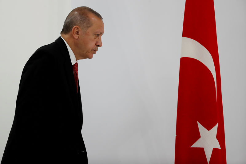 Erdogan says Turkish cenbank chief ousted for refusing rate cuts: report By Reuters