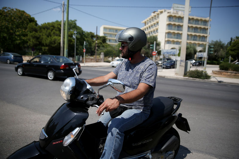 For Greeks, burgeoning gig economy means low wages, long hours By Reuters