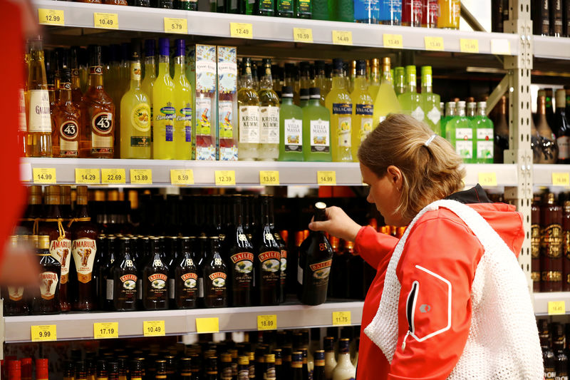 Latvia fires next salvo in Baltic booze battle By Reuters