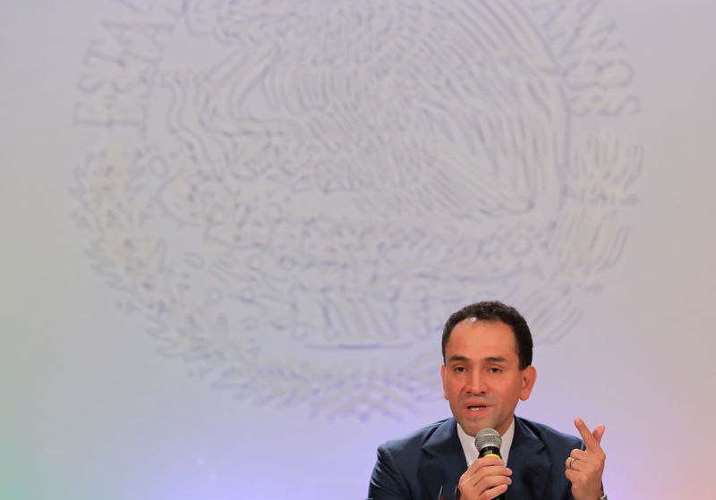 Mexico's new finance minister vows fiscal calm, hews to surplus target By Reuters