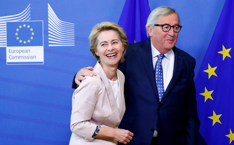Naming of von der Leyen as EU executive chief not transparent: Juncker By Reuters