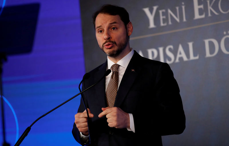 Turkey's Albayrak sees more strong rate cuts coming By Reuters