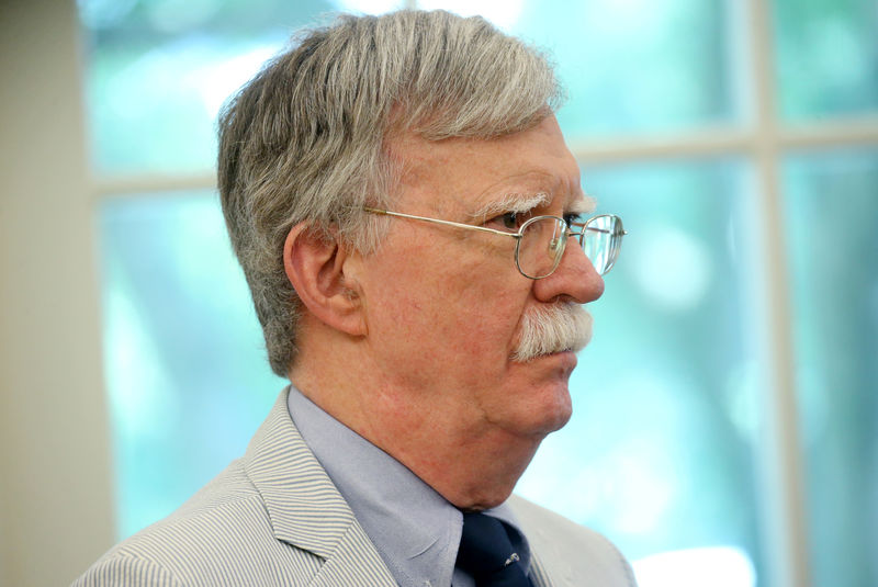 U.S. national security adviser Bolton travels to Japan, South Korea amid trade dispute By Reuters