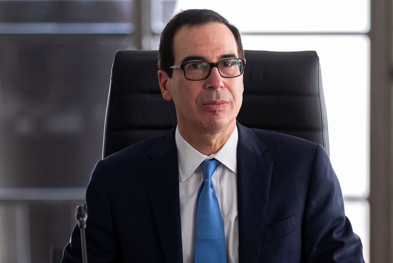 U.S. treasury secretary had 'very good talk' with Chinese counterpart By Reuters