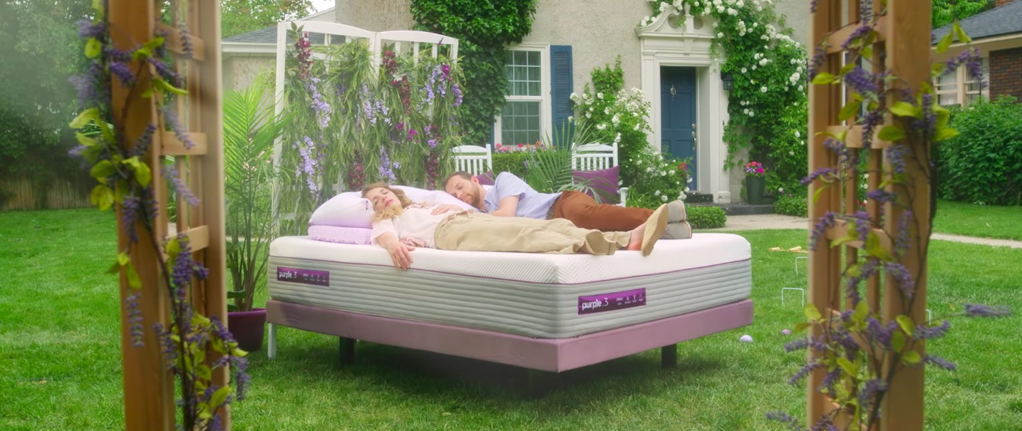 Why DTC mattress brand Purple is spending more money on TV