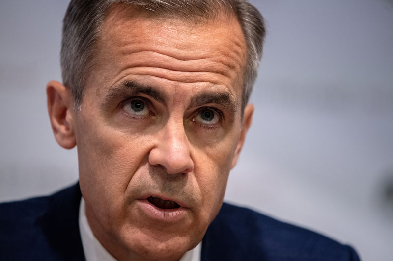 © Reuters. Bank Of England Inflation Report Press Conference
