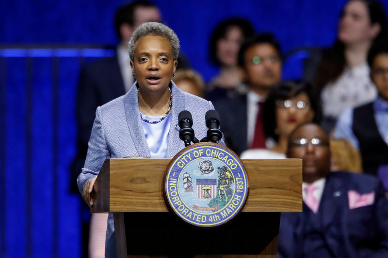 Chicago mayor warns of 'hard choices' to deal with $838 million budget deficit By Reuters