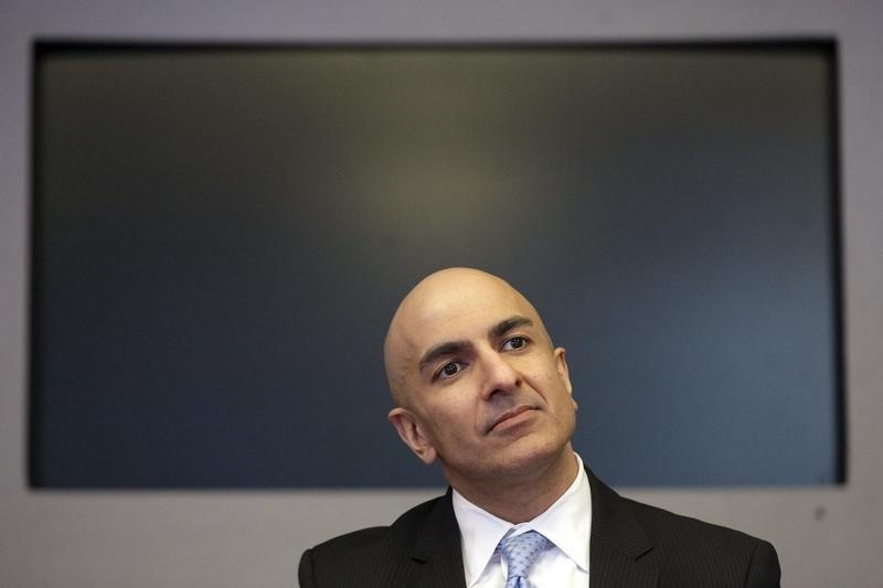 © Reuters.  Fed's Kashkari Backs More Policy Support as Recession Risks Rise