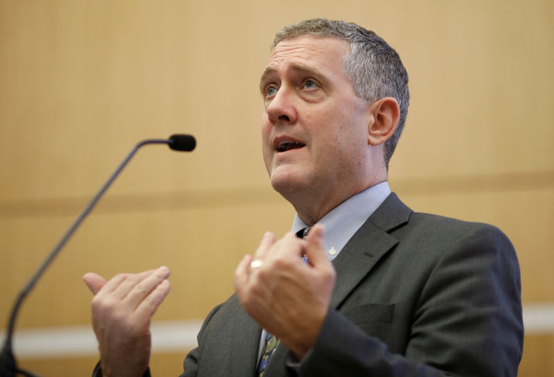 Fed's Bullard says only 'sustained' bond inversion would be 'bearish' signal By Reuters