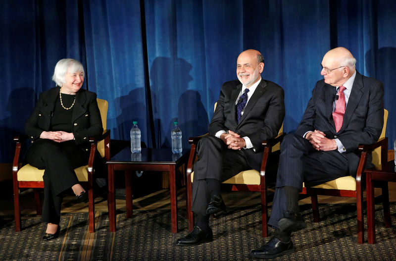 Former Fed chairs say U.S. central bank must be free of 'political pressures' By Reuters