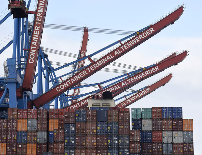 German imports rise more than expected in June, exports down By Reuters