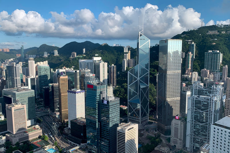 Hong Kong second-quarter GDP grows 0.5% year-on-year, but trade war, protests stoke recession risk By Reuters