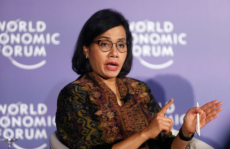 Indonesia's finmin revises down 2019 growth outlook to 5.08% year on year By Reuters