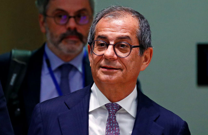 Italy's 2020 deficit on track to be well below target: minister By Reuters