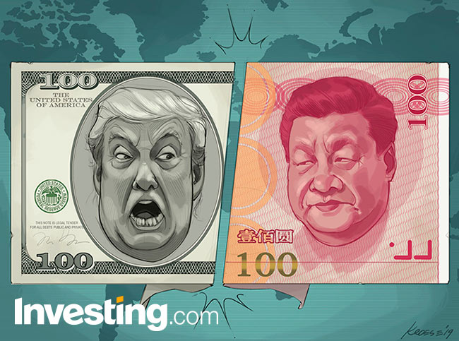 Markets Fear U.S.-China Trade War Could Morph Into Full-Blown Currency War By Investing.com