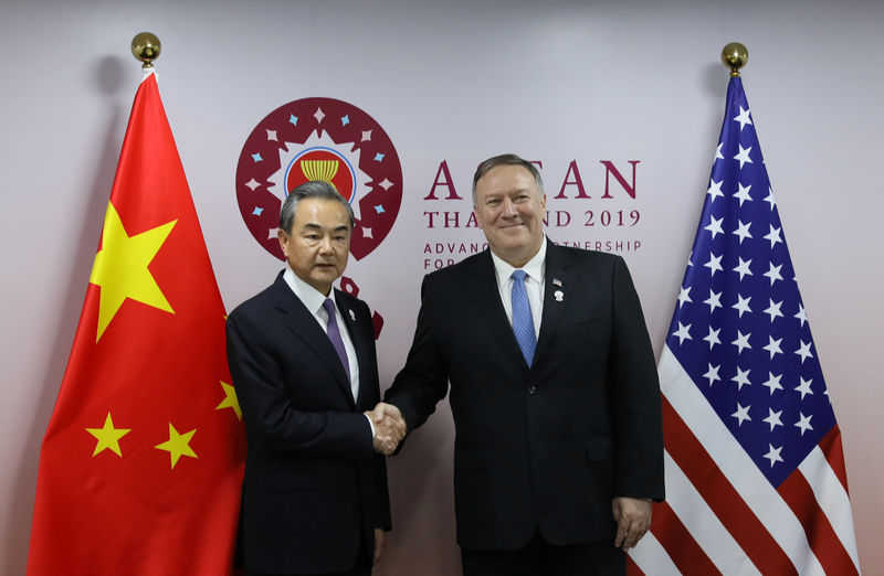 Senior China diplomat says important for U.S.-China to meet face-to-face By Reuters