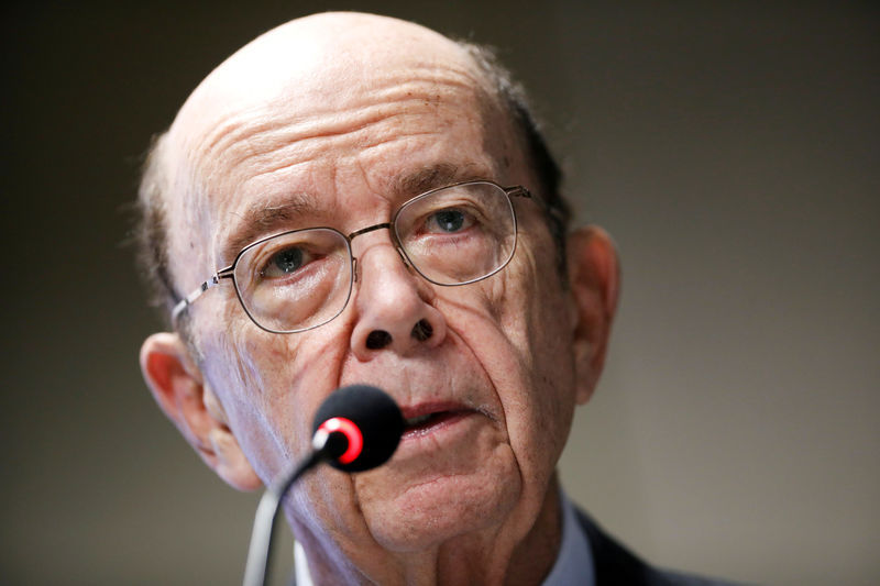U.S. Commerce Secretary Ross downplays fears of recession By Reuters