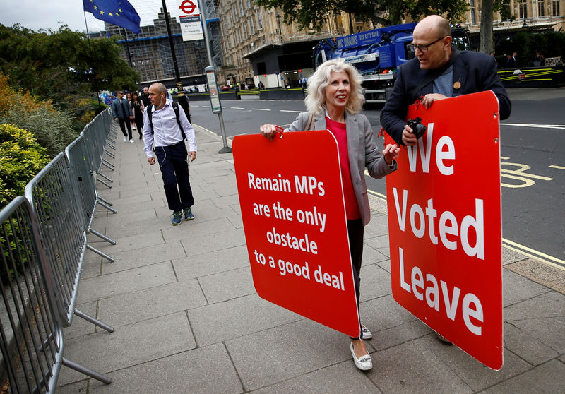 British PM Johnson kicks off election campaign as parliament blocks no-deal Brexit By Reuters