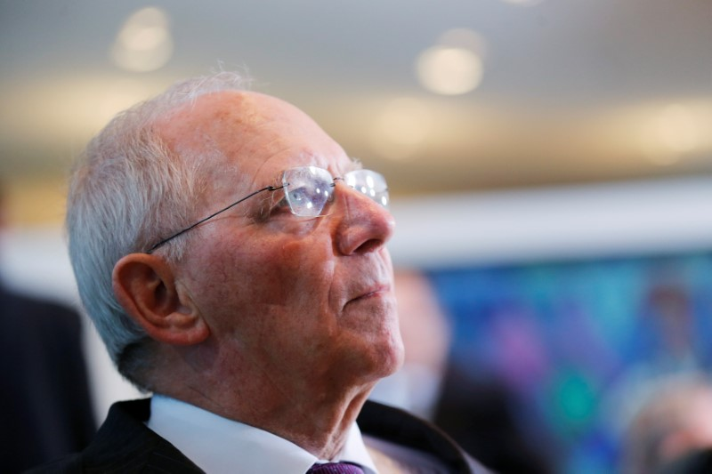 © Reuters.  Deregulating Financial Markets Was 'Stupidity,' Says Schaeuble