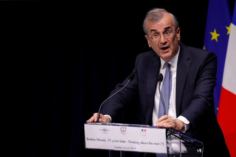 ECB should take climate change into account: Villeroy By Reuters