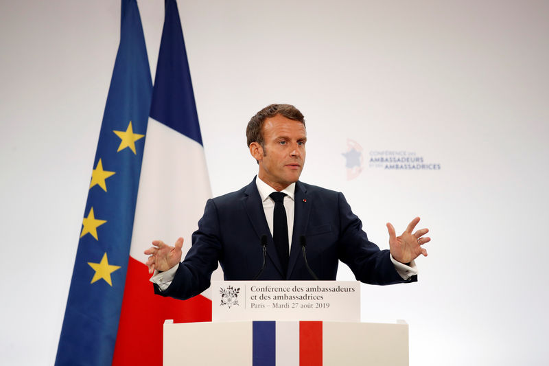 Macron's reform drive faces high-risk pension overhaul By Reuters