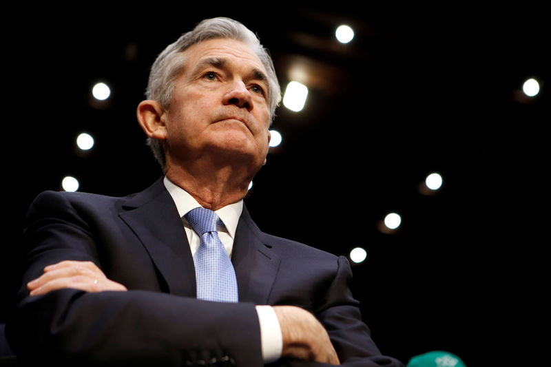 © Reuters.  Powell Flatly Rejects Suggestion Fed Plays Politics With Policy