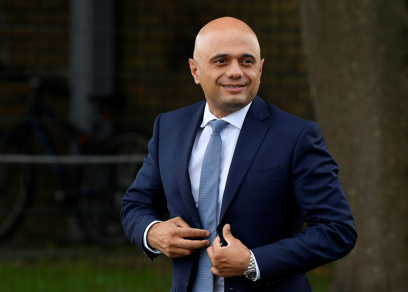 UK's Javid to respond to inflation-linked bonds report on Wednesday By Reuters