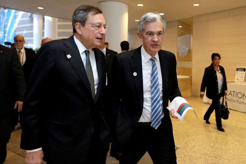 central banks push back against markets greedy for stimulus By Reuters