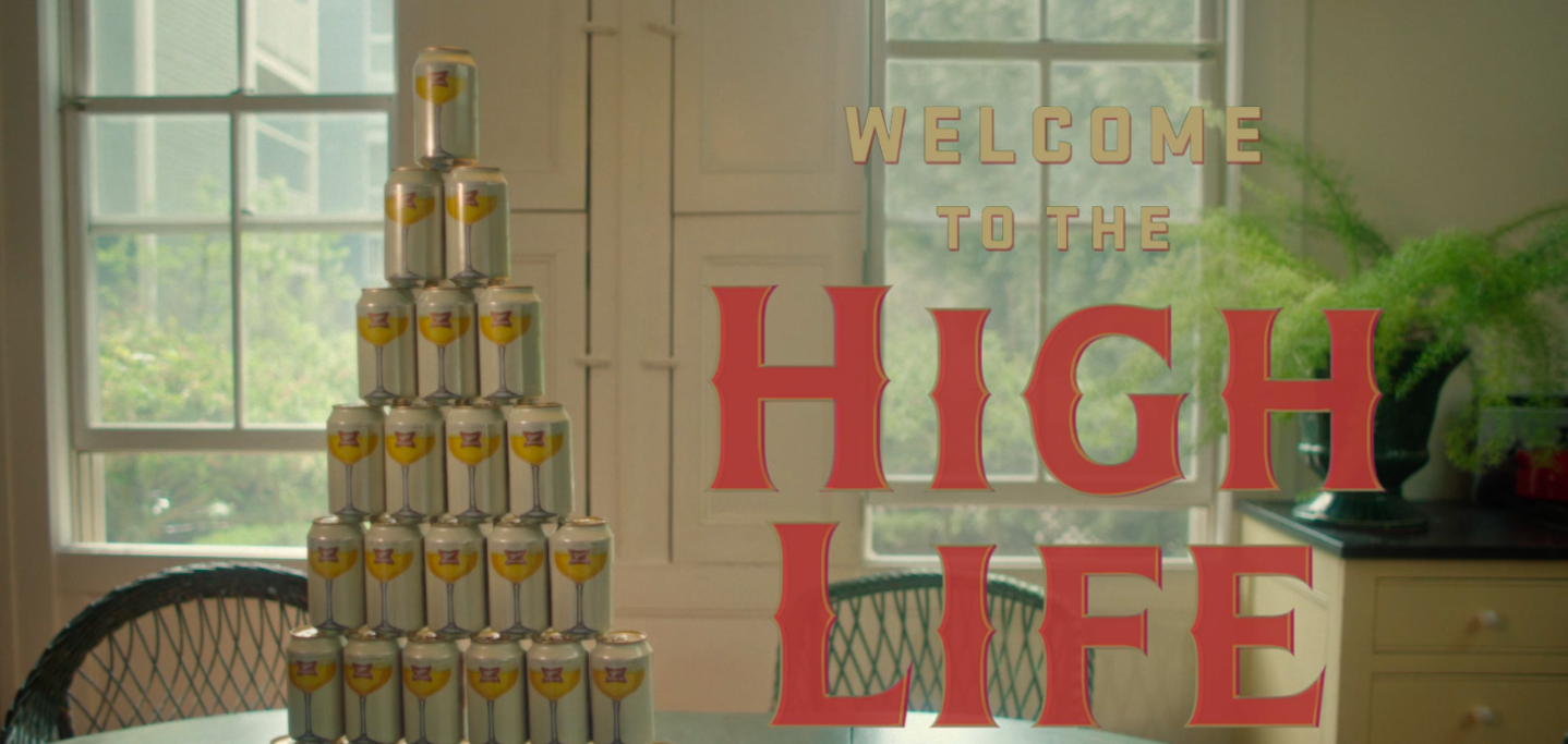 Miller High Life is starting to advertise again