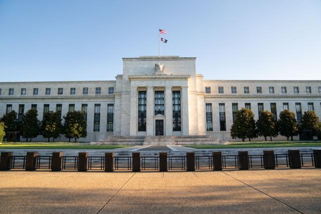 © Bloomberg. The Marriner S. Eccles Federal Reserve building stands in Washington, D.C., U.S., on Tuesday, Aug. 18, 2020. In addition to helping rescue the U.S. economy amid the coronavirus pandemic, Fed Chair Jerome Powell and colleagues also spent 2020 finishing up the central bank's first-ever review of how it pursues the goals of maximum employment and price stability set for it by Congress. Photographer: Erin Scott/Bloomberg
