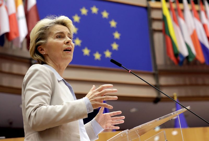 © Reuters. FILE PHOTO: Plenary session at the European Parliament in Brussels