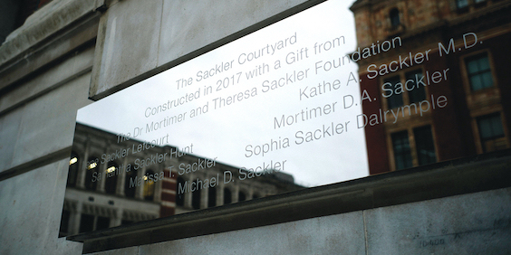 Sackler WhatsApp Chats Reveal Reliance on Museums to Clear Family Name