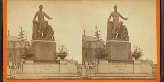 Statue of Lincoln and Formerly Enslaved Man Removed From Boston's Park Square
